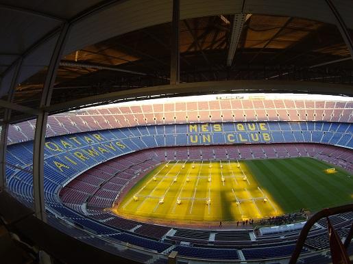 Barcelona zwiedzanie stadionu Camp Nou z dzieckiem (7)