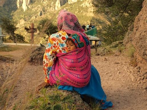 Meksyk Indianie Tarahumara