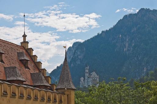 Bawaria atrakcje dla dzieci - Zamek Hohenschwangau
