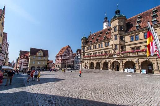 Bawaria z dziećmi atrakcje Rothenburg Ratusz