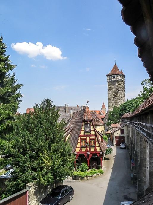 Bawaria z dziećmi atrakcje Rothenburg