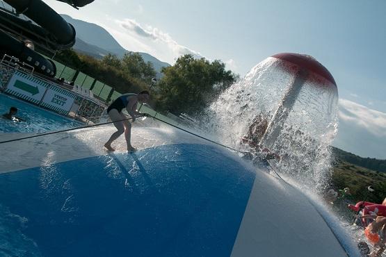 Baseny zewnętrzne Beszeniowa aquapark Gino Park Słowacja