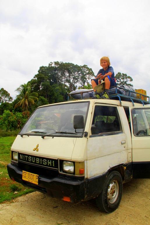 Borneo Indonezyjskie - dżungla z dzieckiem