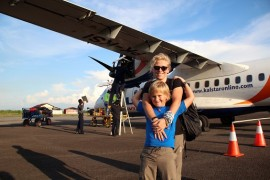 Borneo z dzieckiem