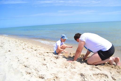 Budowanie fortecy - plaża Hel opinie
