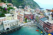 Cinque Terre Włochy opinie plaża mapa