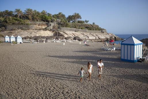 Costa Adeje plaża Teneryfa - hotel_bahia