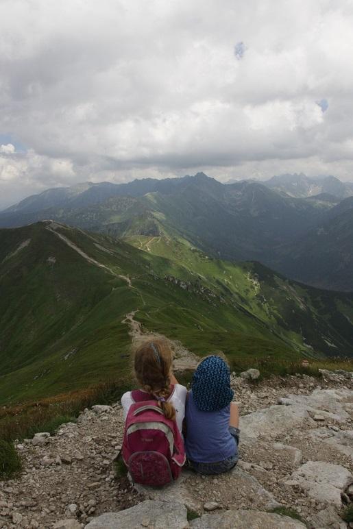 Czerwone Wierchy z dziećmi Tatry