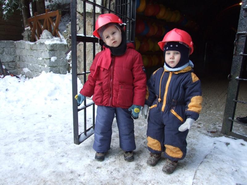 Kowary zimą z dziećmi