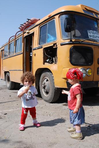 transport Abhazja-Gruzja z dzieckiem