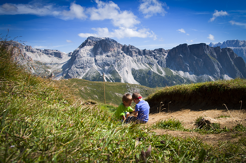 Dolomity Włochy atrakcje dla dzieci