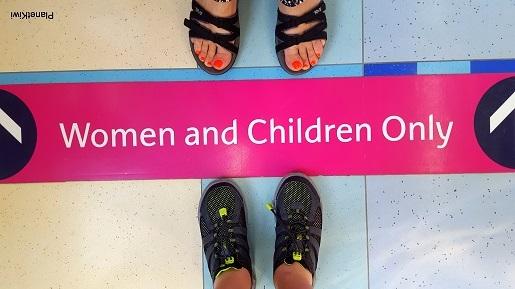 Dubaj metro przedziały dla kobiet i dzieci (2)