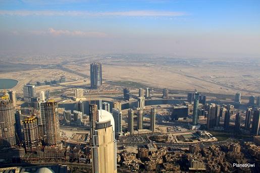 Dubaj widok z Burj Khalifa-wakacje z dzieckiem opinie (1)