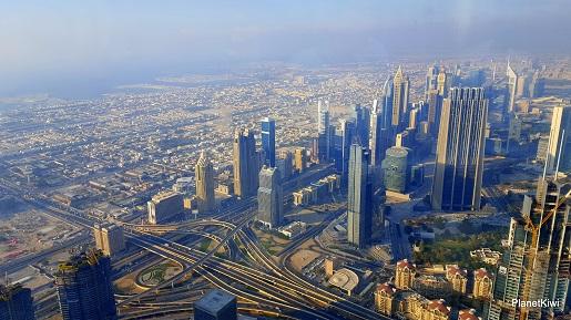 Dubaj widok z Burj Khalifa-wakacje z dzieckiem opinie (2)