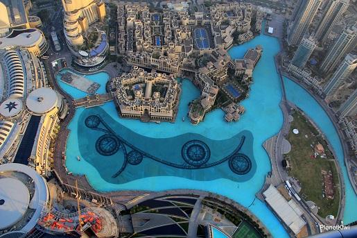 Dubaj widok z Burj Khalifa-wakacje z dzieckiem opinie (4)