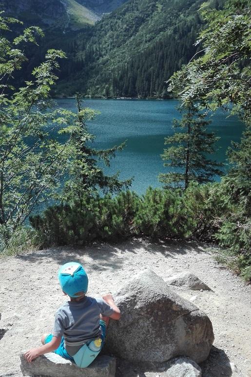 Dzien1 Morskie Oko z dzieckiem opinie wakacje