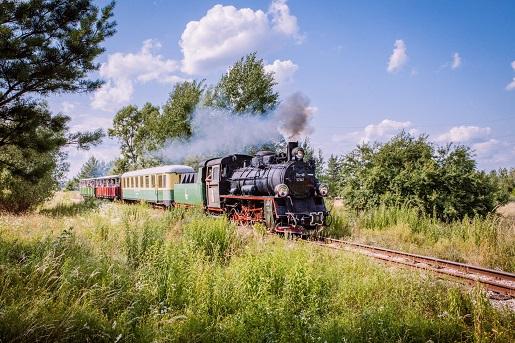 Ełcka Kolej Wąskotorowa atrakcje Mazury