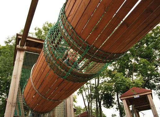 Ełk park linowy atrakcje dla dzieci