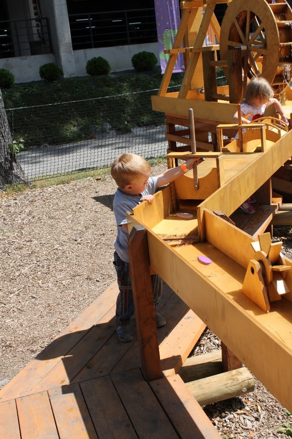 Eko park w Dechę Bielsko Biała atrakcje dla dzieci