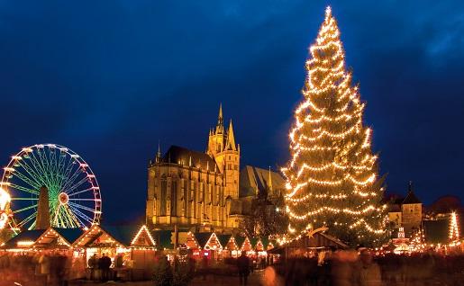 Erfurt Jarmark Bożonarodzeniowy w Niemczech
