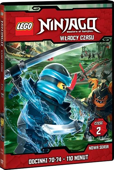 Film LEGO NINJAGO DVD Władcy Czasu 2
