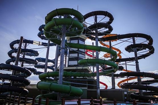Gino Park zjeżdżalnie Aquapark Beszeniowa opinie