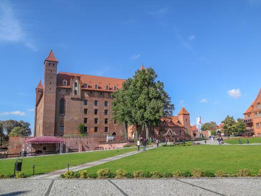 Gniew atrakcje dla dzieci zamek