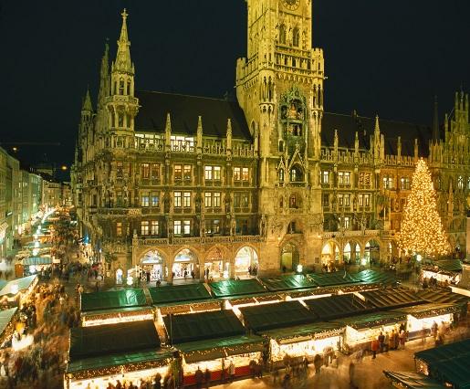 Jarmark Bożonarodzeniowy Monachium Niemcy
