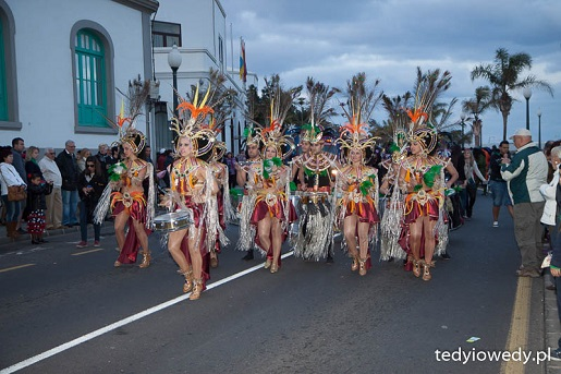 Karnawałowa Parada LANZAROTE luty atrakcje