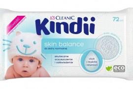 Kindii Skin Balance_chusteczki nawilżane do skóry normalnej
