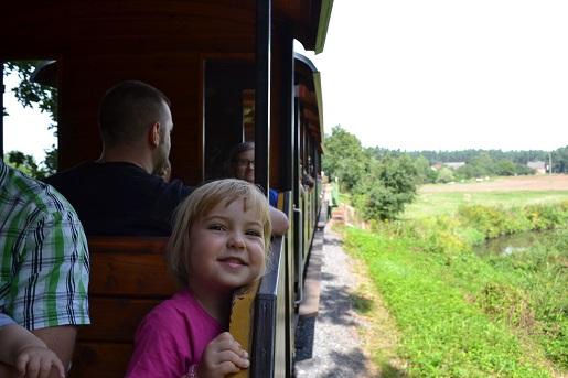 Kolejka wąskotorowa Śląskie atrakcje dla dzieci