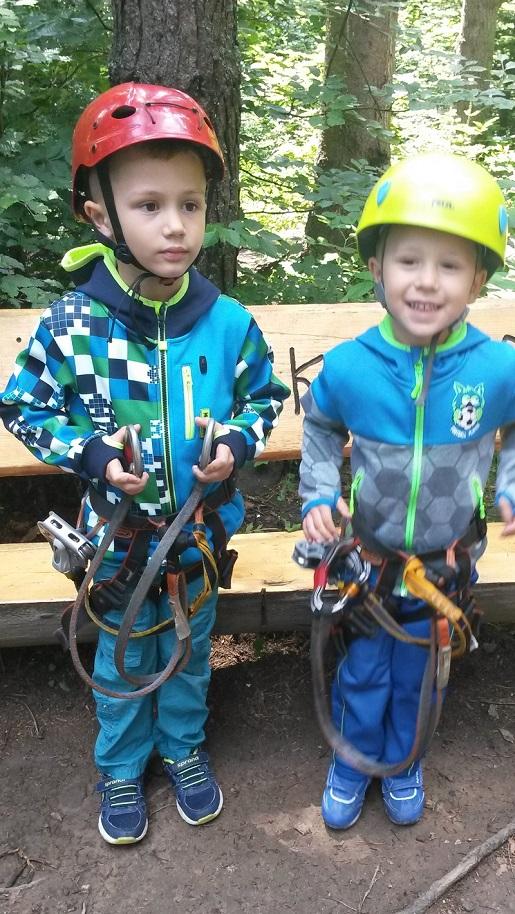 Krynicki Park Linowy opinie wakacje z dziećmi