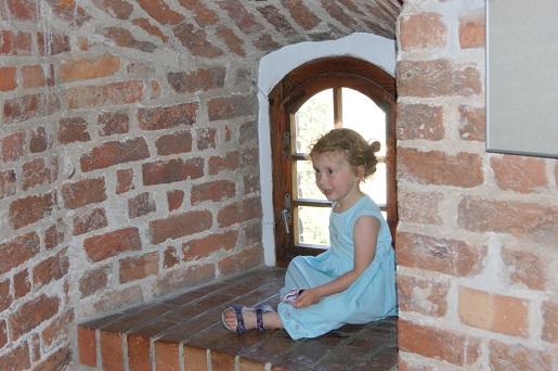 Księżniczka na Zamku w Bytowie-Kaszuby zwiedzanie z dziećmi