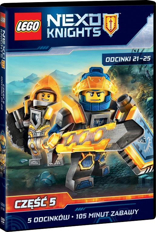 LEGO NEXO 5 DVD 3D