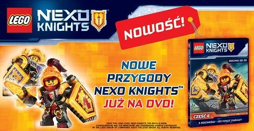 LEGO NEXO KNIGHTS 6 film bajka dla dzieci