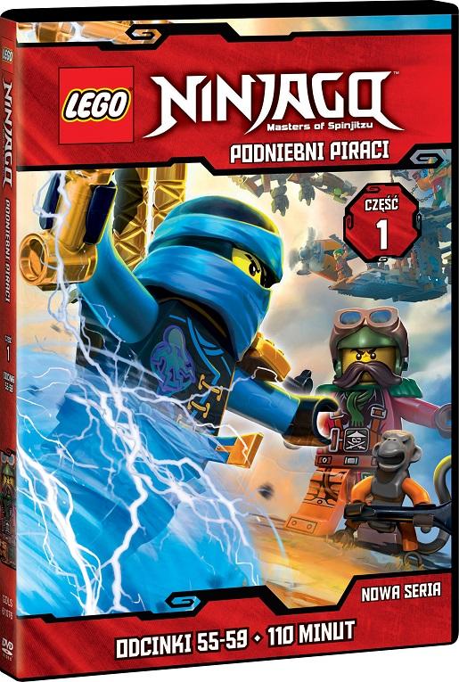 LEGO NINJAGO PODNIEBNI PIRACI CZESC 1(13) DVD 3D