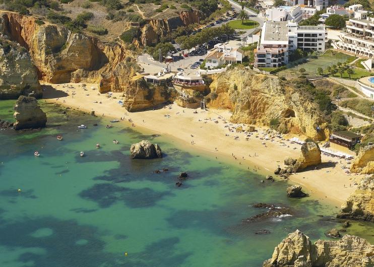 Lagos plaża Portugalia atrakcje opinie