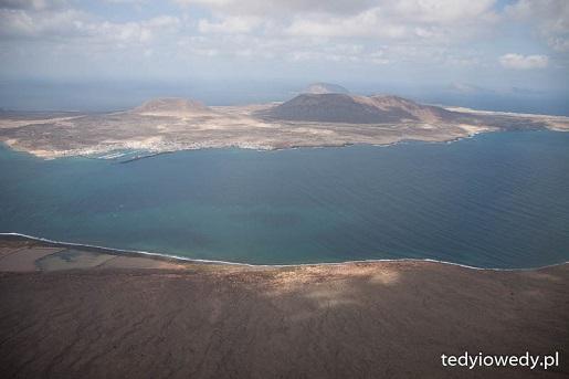 Lanzarote krajobraz