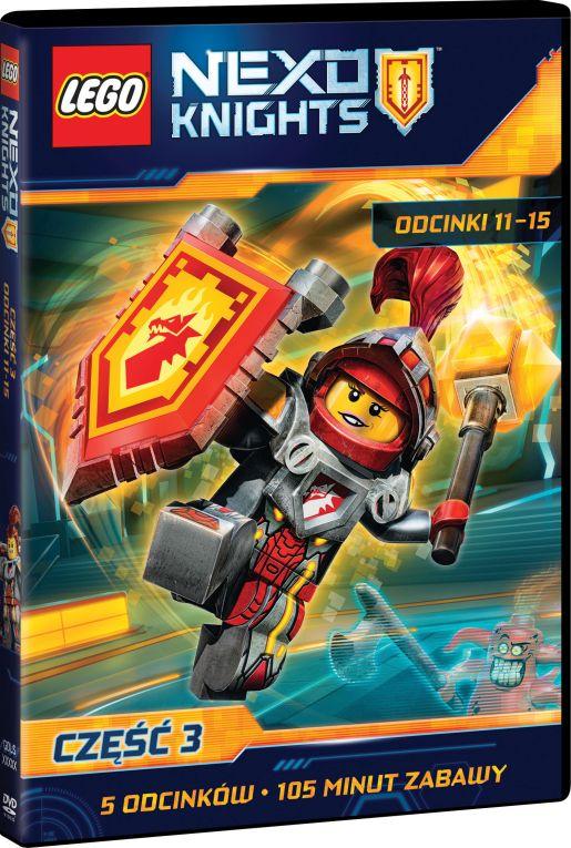 Lego Nexo Knights część 3 opinie atrakcje
