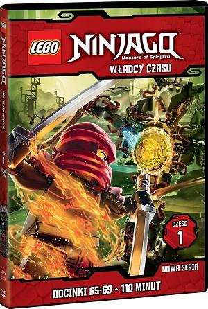 Lego Ninjago FILM WladcyCzasu1 DVD