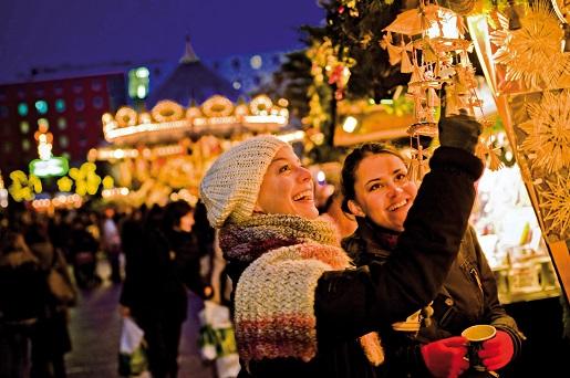 Lipsk Jarmark Bożonarodzeniowy Niemcy