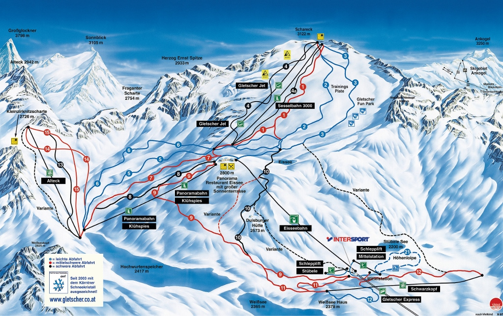 MOLLTALER Alpy Austriackie