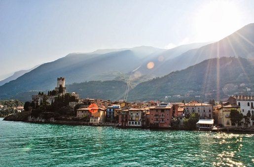 Malcesine Garda Włochy zwiedzanie opinie