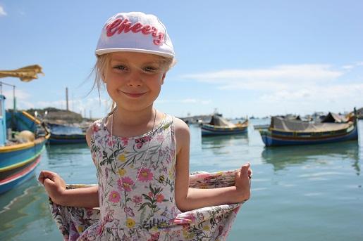 Marsaxlokk zwiedzanie Malty z dzieckiem - atrakcje