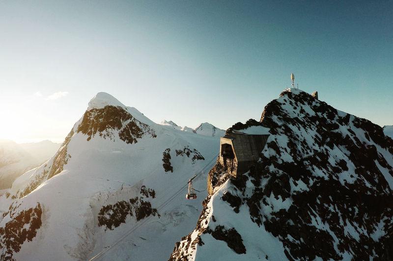 Zermatt lodowiec Theodul atrakcje dla dzieci