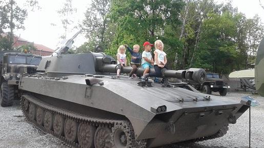 Muzeum Techniki Wojskowej w Zabrzu opinie Turystyczna Rodzinka