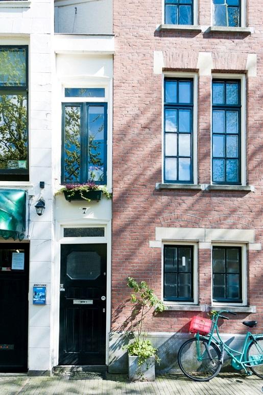 Najwęższy budynek Amsterdam atrakcje