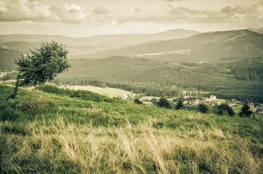 Ochodzita Góry Beskid Śląski atrakcje