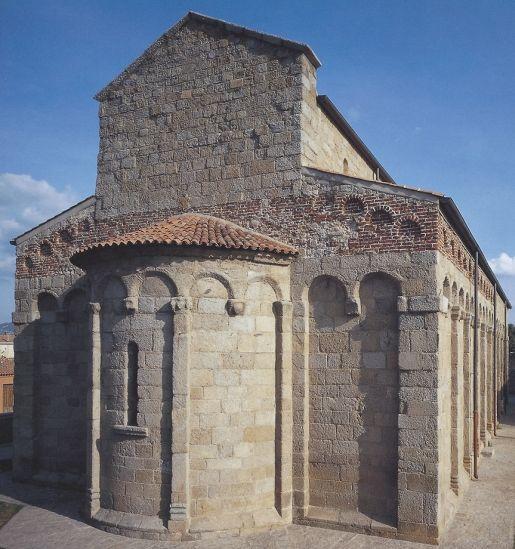 Olbia Bazylika San Simplicio rodzinne atrakcje Sardynia Włochy