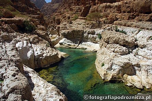 Oman Kanion Wadi Shab